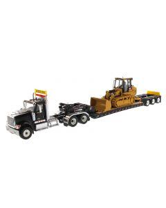 International HX520 + Cat 963K Track Loader