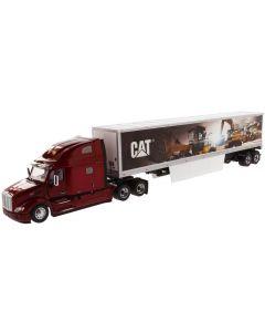 Peterbilt 579 Truck & CAT Werbeauflieger