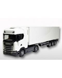 Scania CS410 & Kofferauflieger weiss