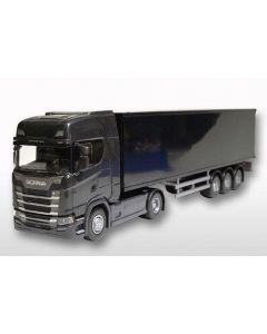 Scania CS410 & Kofferauflieger schwarz