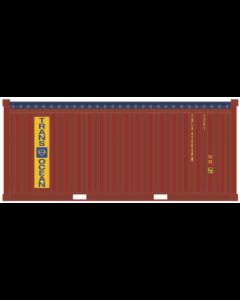 20ft Container Open-Top (22U1) »Trans Ocean«