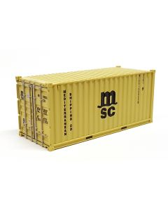 "20ft Container ""MSC"" gelb"
