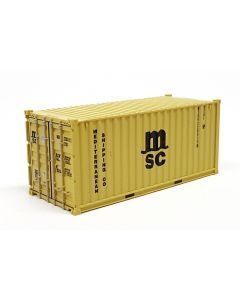 """20ft Container (22G1) """"MSC"""" gelb"""