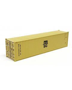 "40ft Container ""MSC"" gelb"