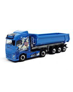 """Volvo FH GL Rundmulden-Sattelzug """"BW Trans / Avengers Truck"""""""