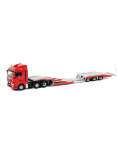 MAN TGX XLX 6x2 LKW TRANSPORTER ROT
