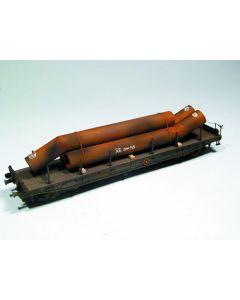 Bend tubes, 165 mm