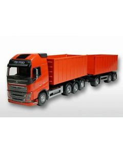 Volvo FH04 GL Abrollmulde gross rot