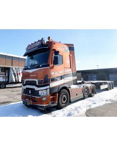"""Renault T High + 40ft Container """"BA van Herk"""""""