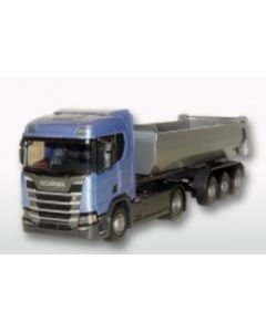 Scania CR Next HL 4x2 3a Kipper, blau / silber (1x)
