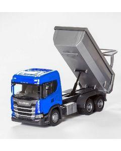 Scania G 500 3achs-Muldenkipper blau