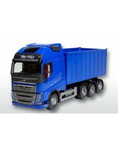 Volvo FH 04& Abrollmulde groß, blau