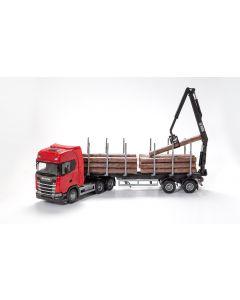 Scania CS410 6x4 Holzsattelzug