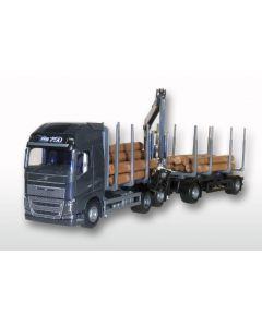 Volvo FH GL 04 Holz-Haengerzug