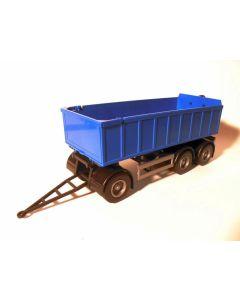 Anhänger -3a mit Abrollmulde klein, blau