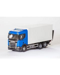 SCANIA CR Next G. LKW-Koffer blau