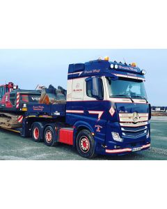 "MB Actros MP4 Big Space ""Frank Wulf"""