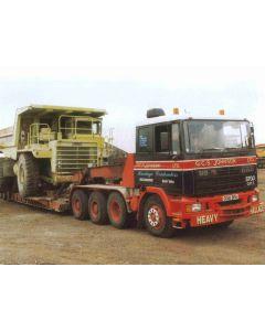 DAF 95 380  G.C.S. Johnson 8x4
