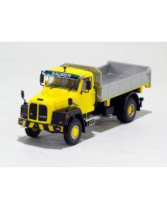 Saurer D290B Hauber 4x4 Kipper gelb