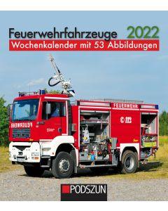 Feuerwehrfahrzeuge 2022 Wochenkalender