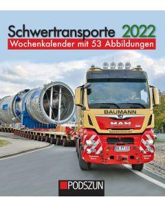 Schwertransporte 2022 Wochenkalender