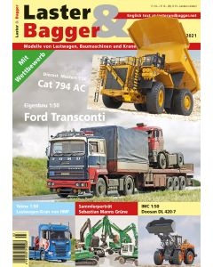 Laster und Bagger