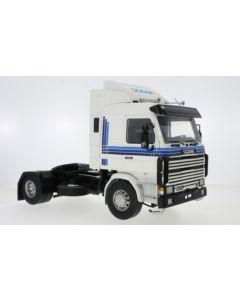 Scania 143 Topline, weiss/blau