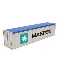 """40ft Container Open Top + 6x Reifen """"Maersk"""""""