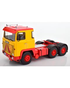 Scania LBT 141 1976, yellow/red