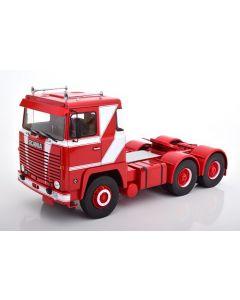 Scania LBT 141 1976, red/white