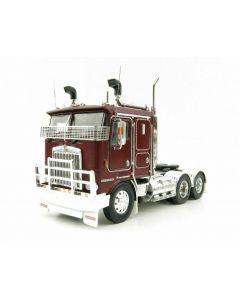 Kenworth K100G 6x4 Prime Mover, Burgundy