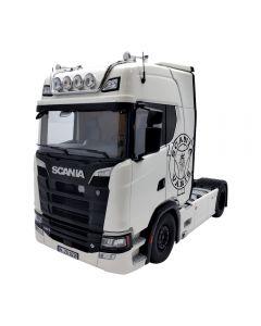 Scania V8 730S 4x2, weiß