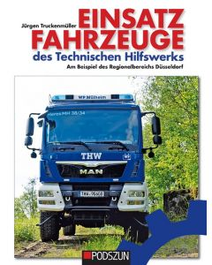 Einsatzfahrzeuge des Technischen Hilfswerks