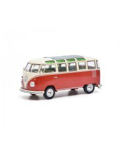 VW T1 Samba,rot-beige