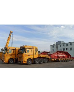 """MB Actros MP4 SLT Big Space """"Wiesbauer"""""""